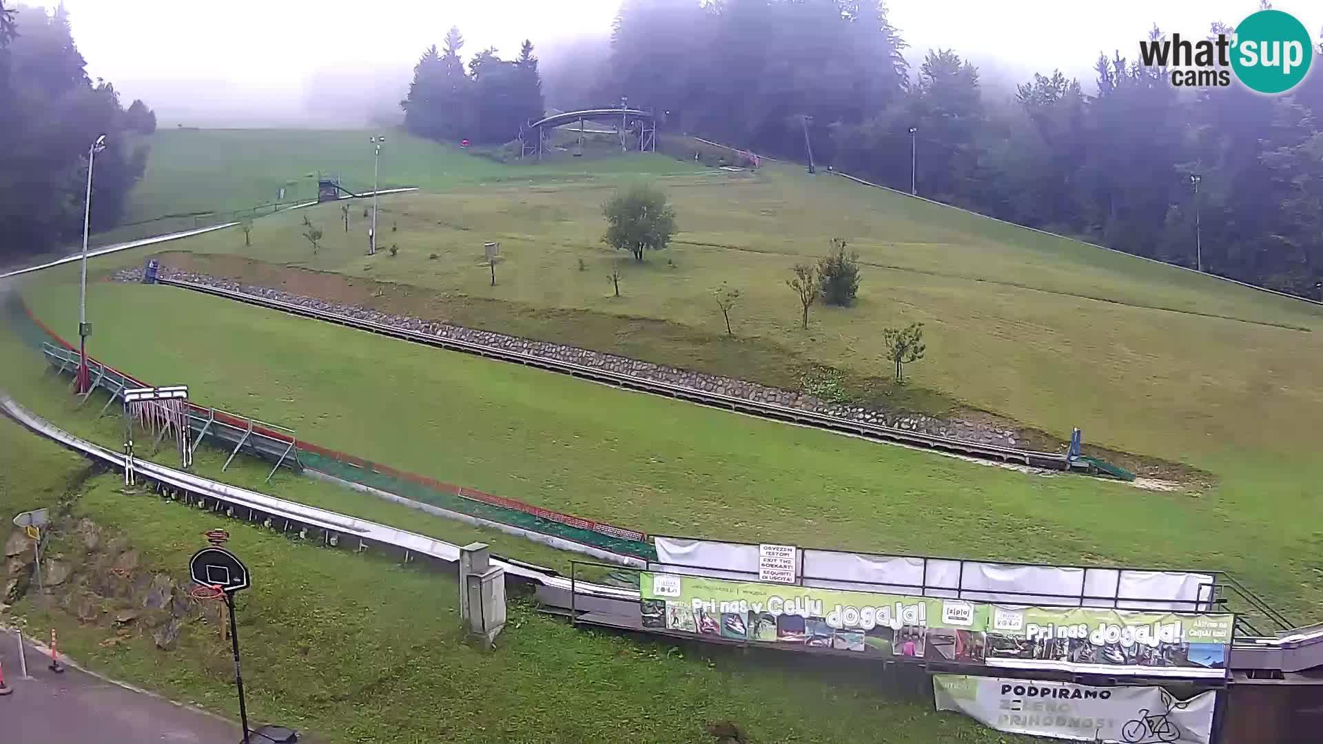 Celjska Koča – vista desde el hotel