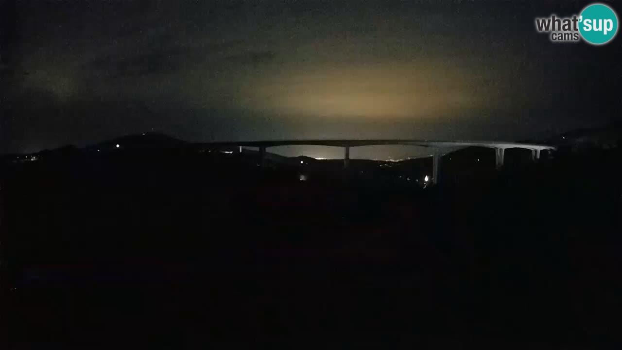 Camera en vivo Črni Kal Viaducto – Viki Burger