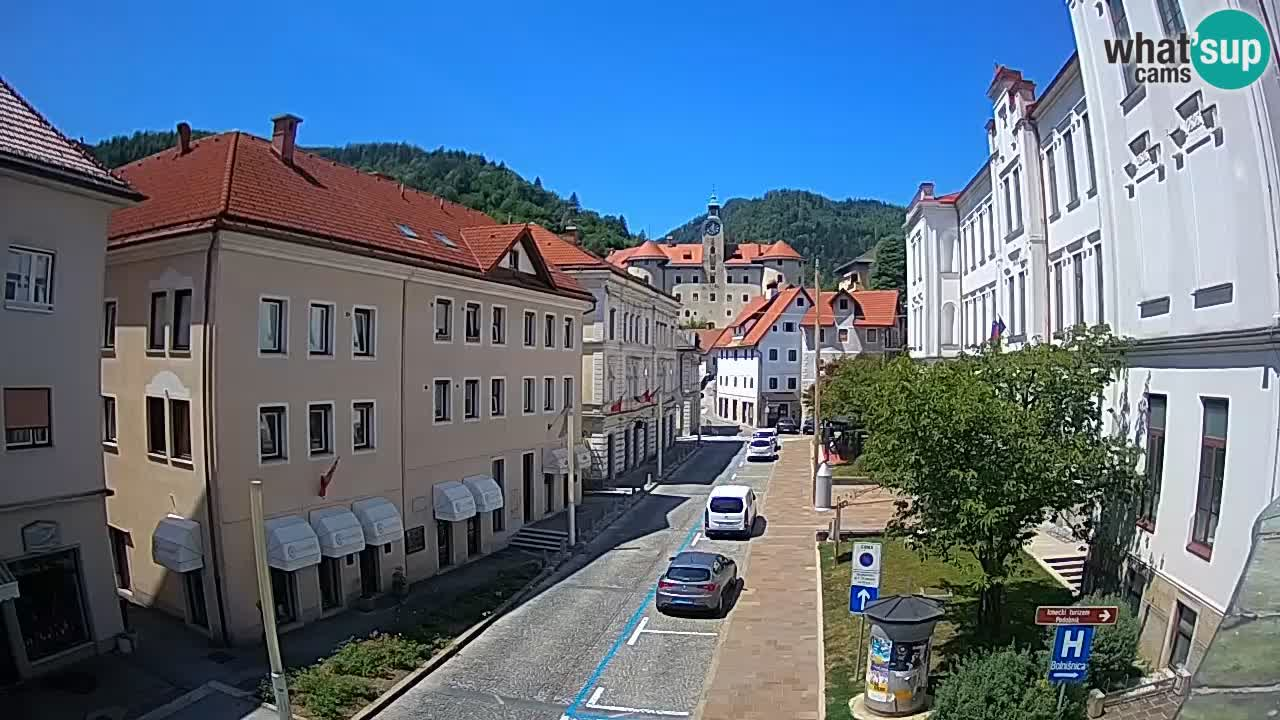 Idrija webcam