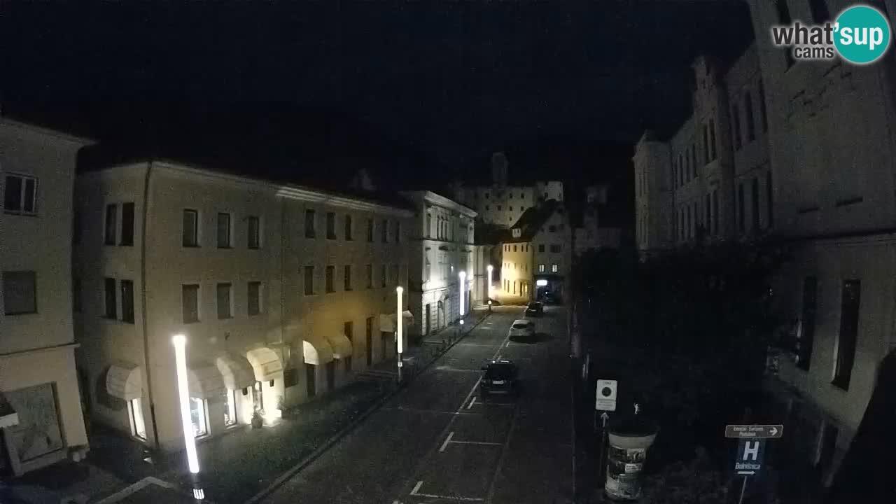 Spletna kamera Idrija – Pogled z občinske stavbe