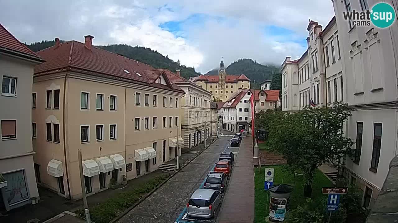 Idrija Live webcam