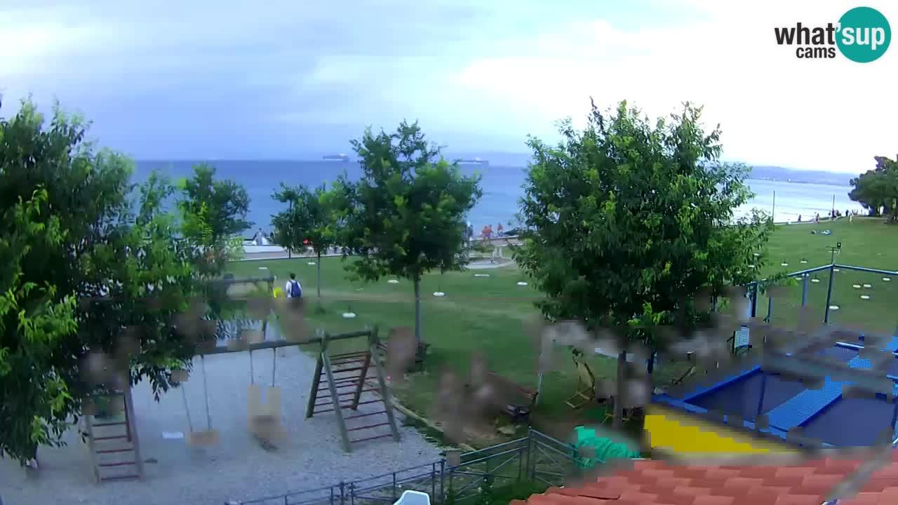 "Izola – view from restaurant ""Svetilnik"""