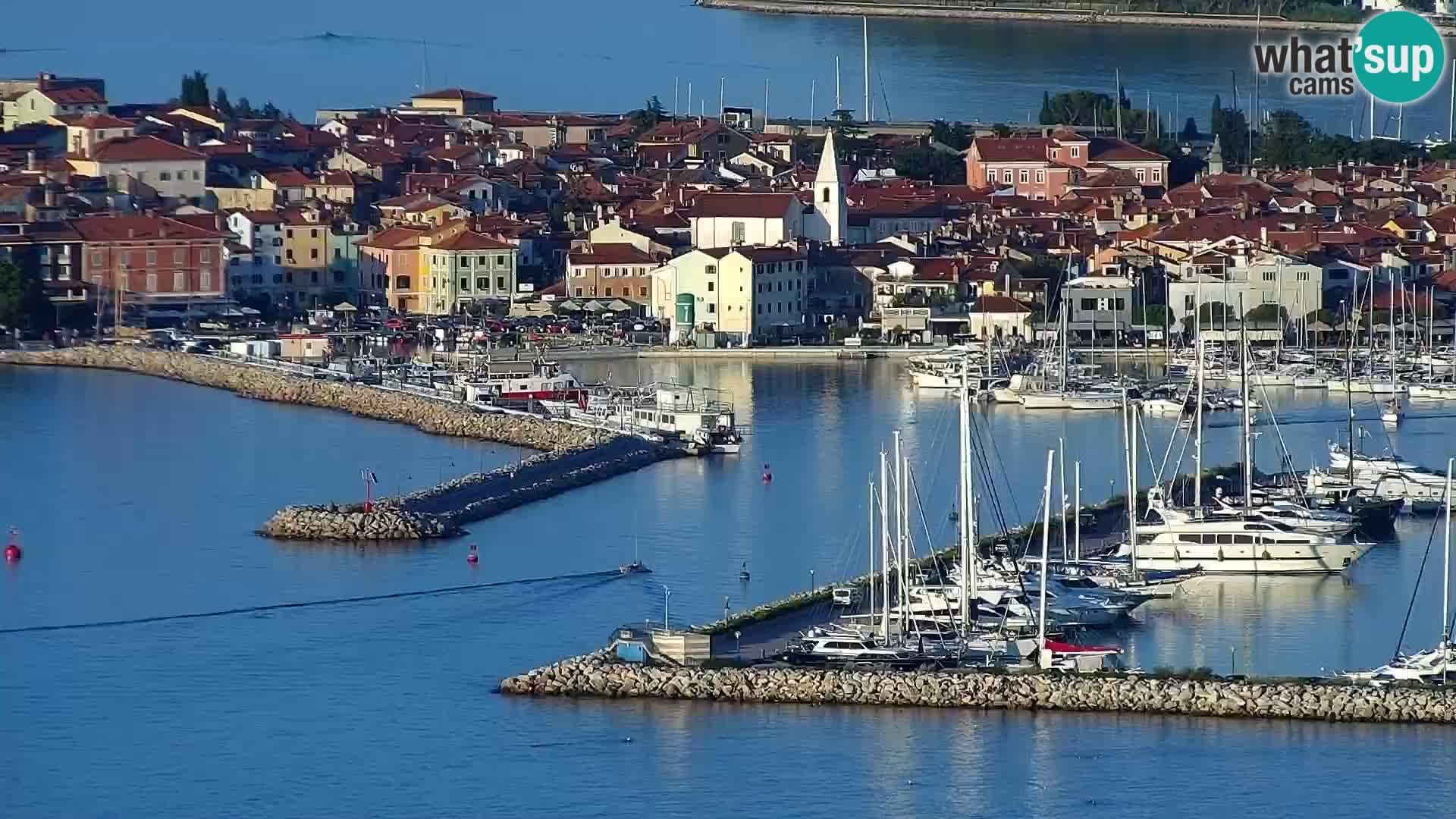 Izola web kamera – enkraten pogled  sa hotelov Belvedere