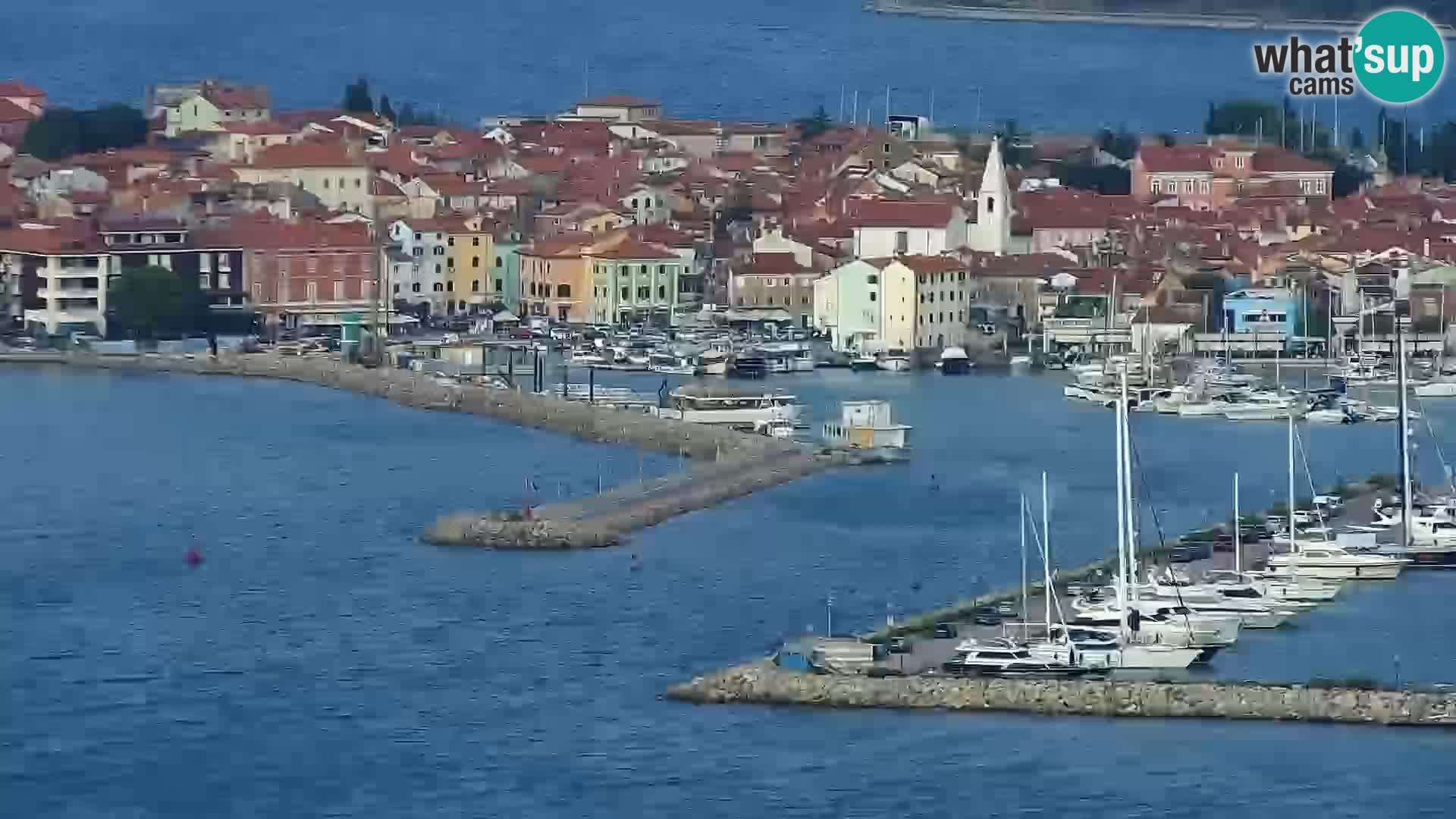 Izola live cam- Amazing view from Belvedere hotels