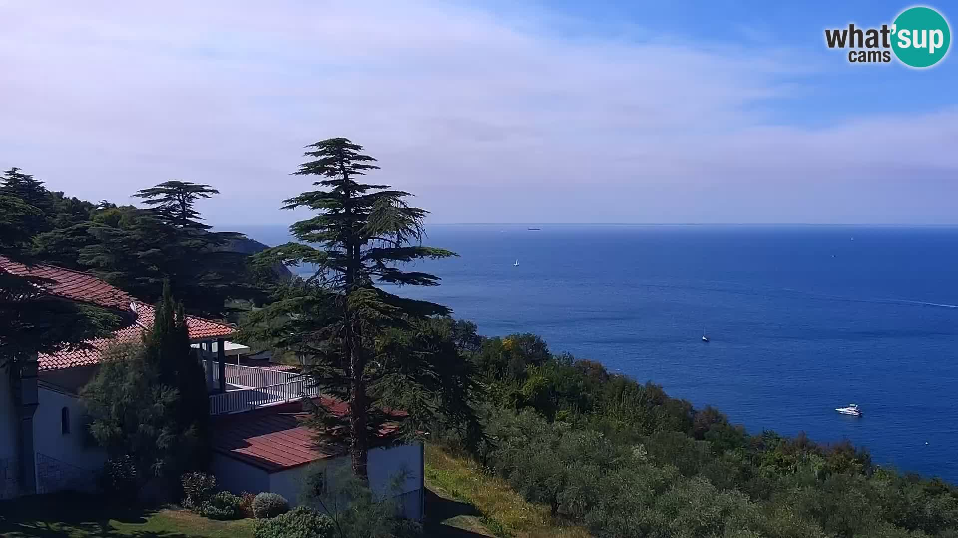 Webcam live Isola – spiaggia San Simone