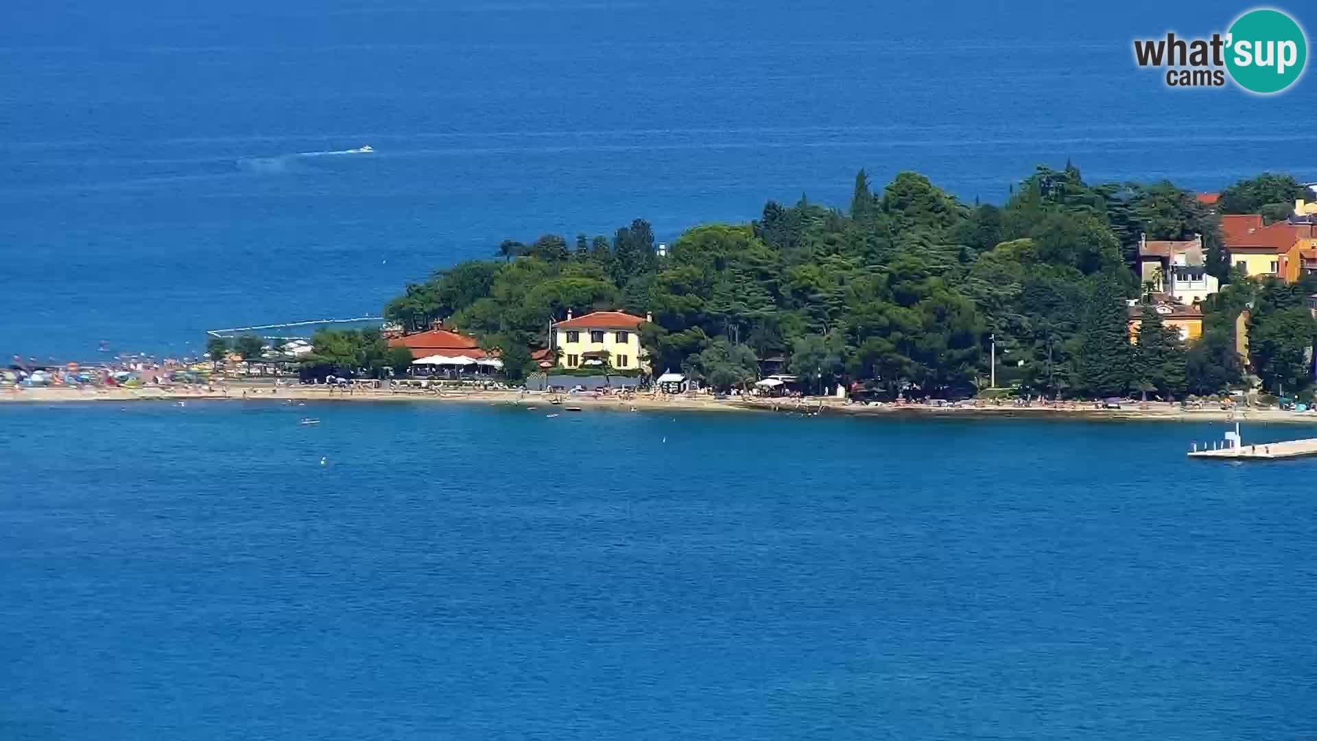 Isola livecam – incantevole panorama dagli hotel Belvedere