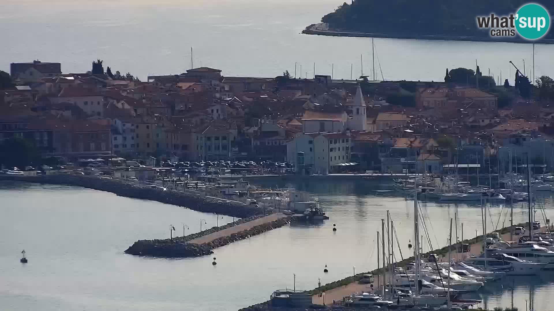 Webcam Izola – Live streaming from San Simon beach