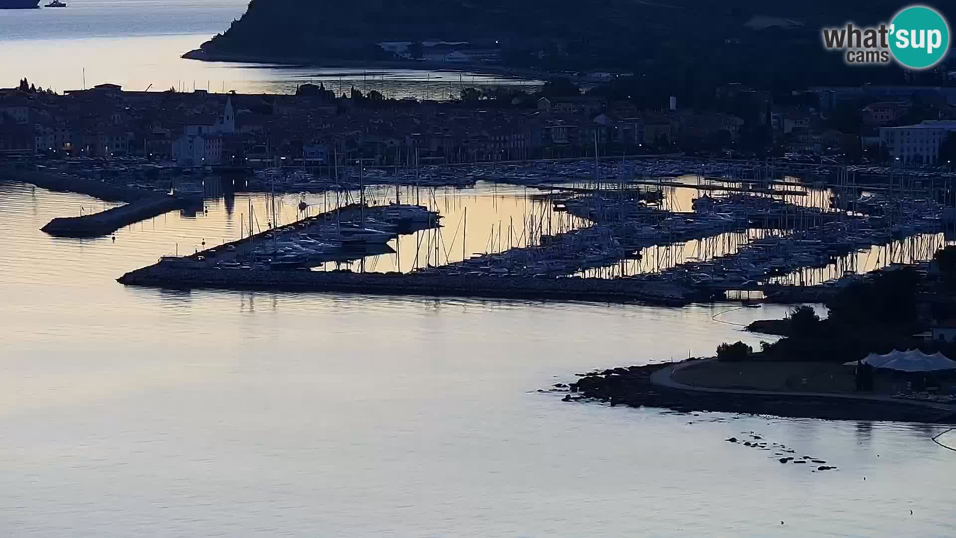 Spletna kamera Izola – plaža San Simon
