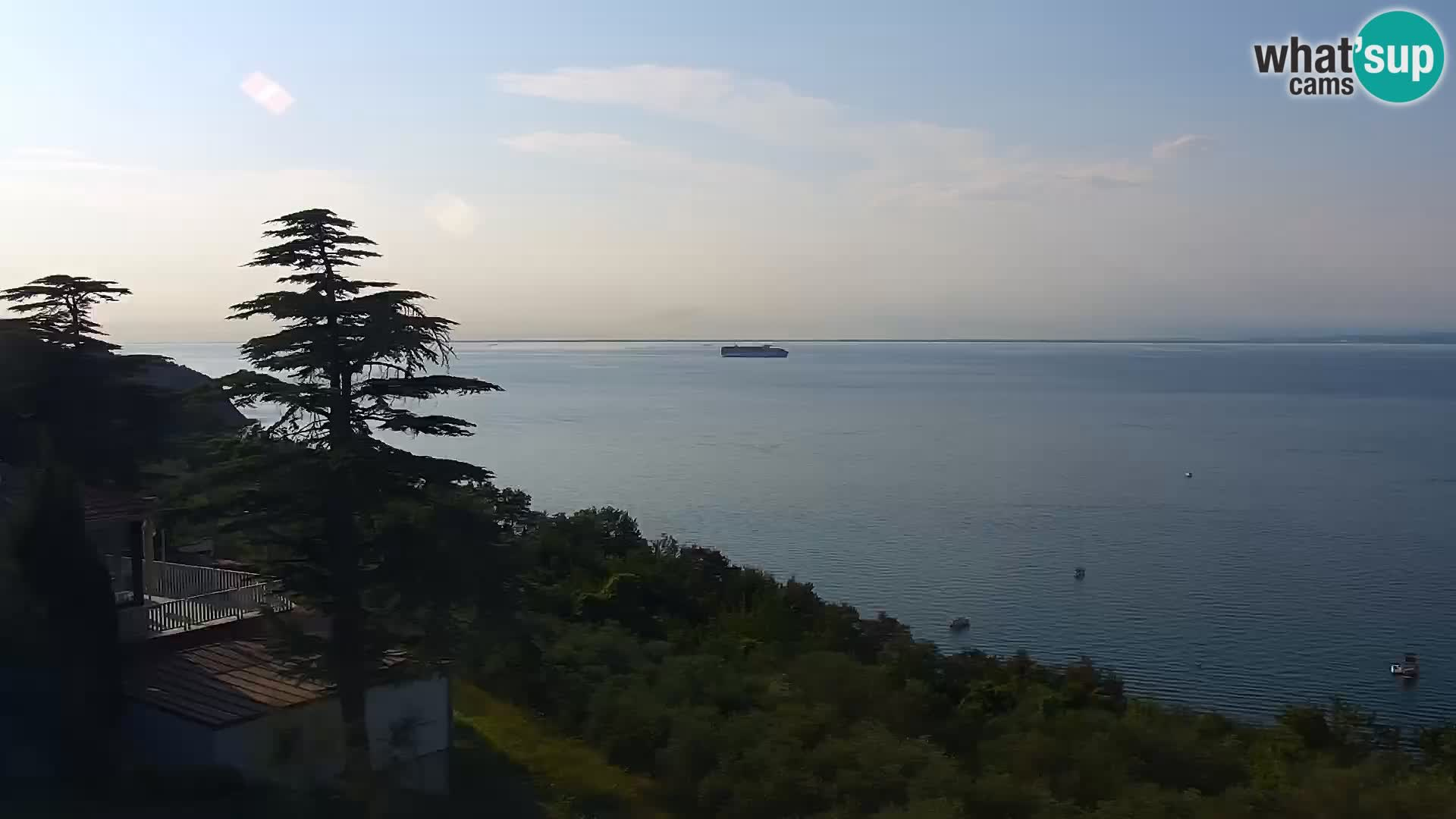 Webcam Izola – playa San Simon