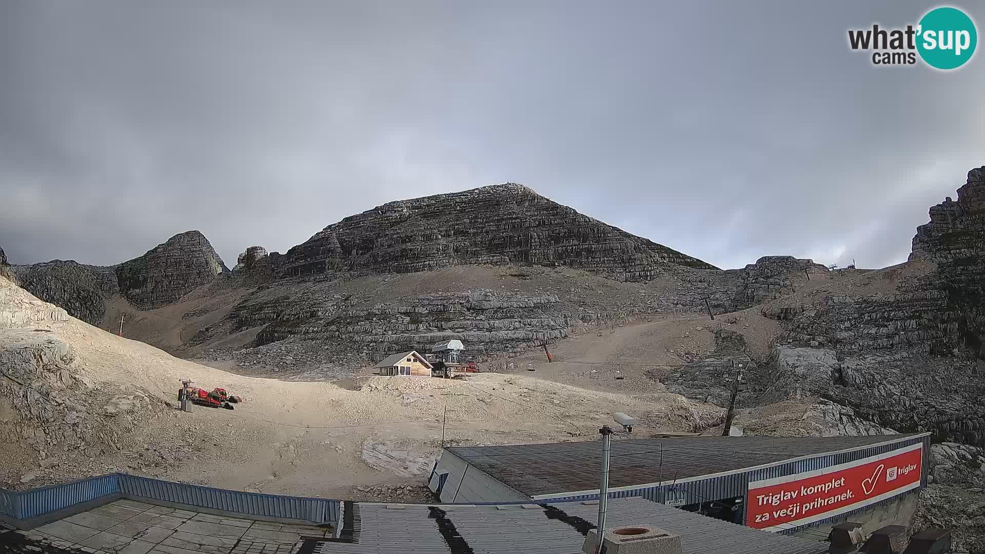 Smučišče Kanin – pogled na Prestreljenik