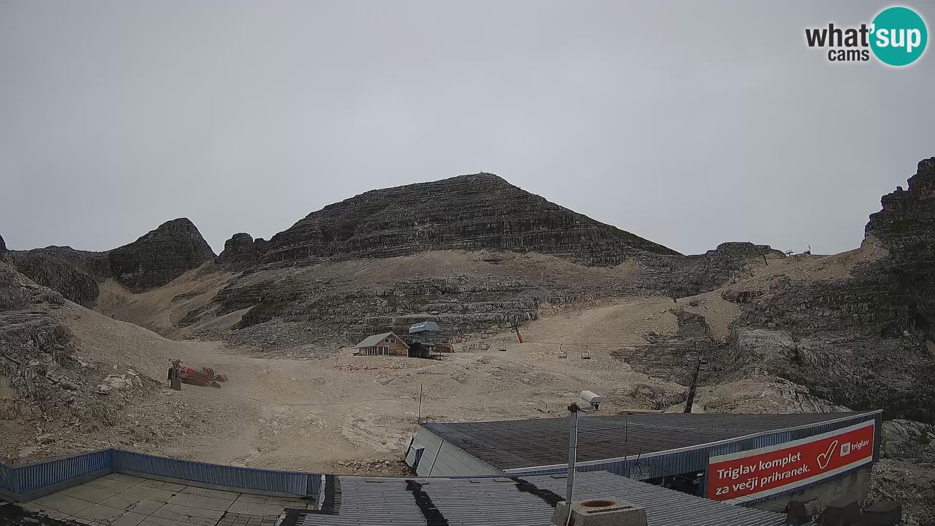 Stazione sciistica Kanin – vista verso Prestreljenik