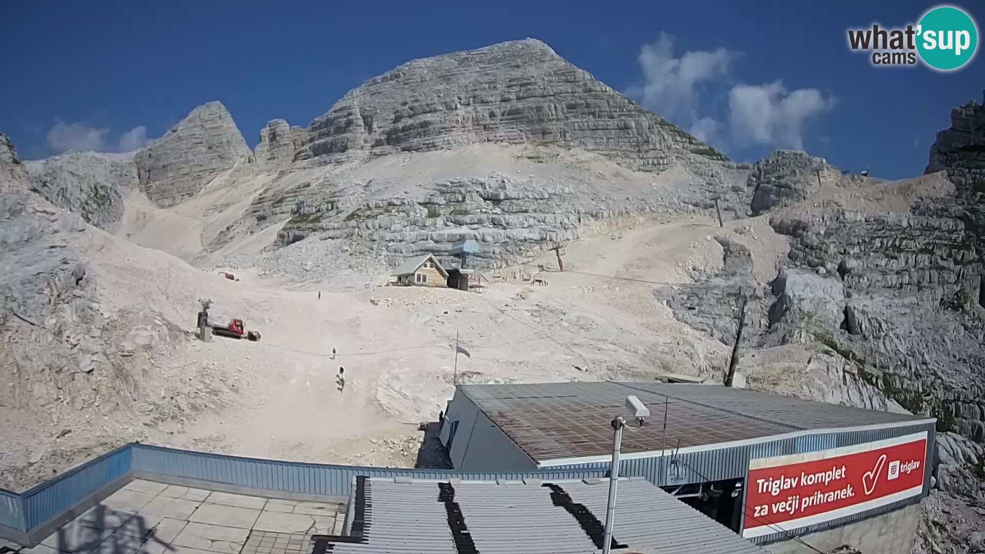 Kanin ski resort – View of Prestreljenik