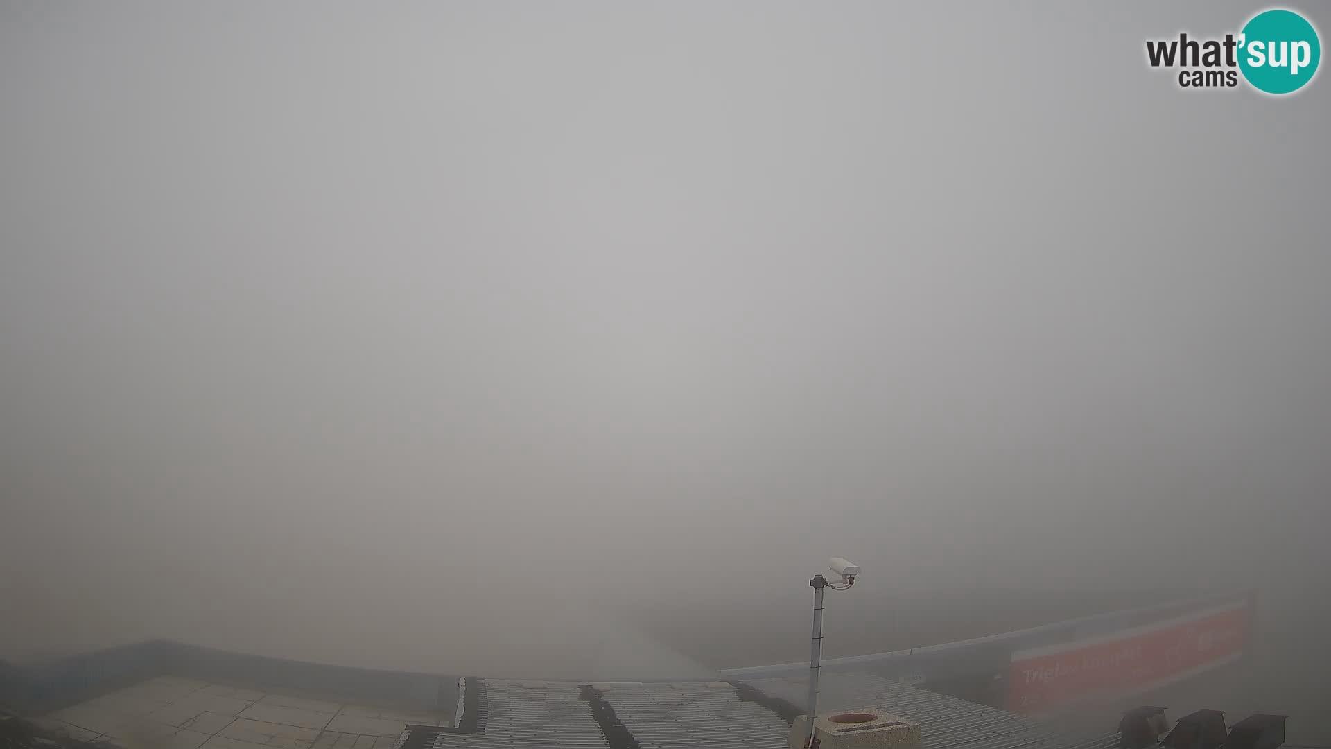 Skijalište Kanin – pogled na Prestreljenik