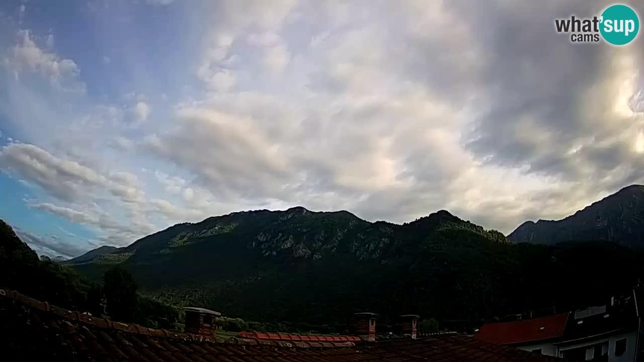 Kobarid – view to Kobariški stol