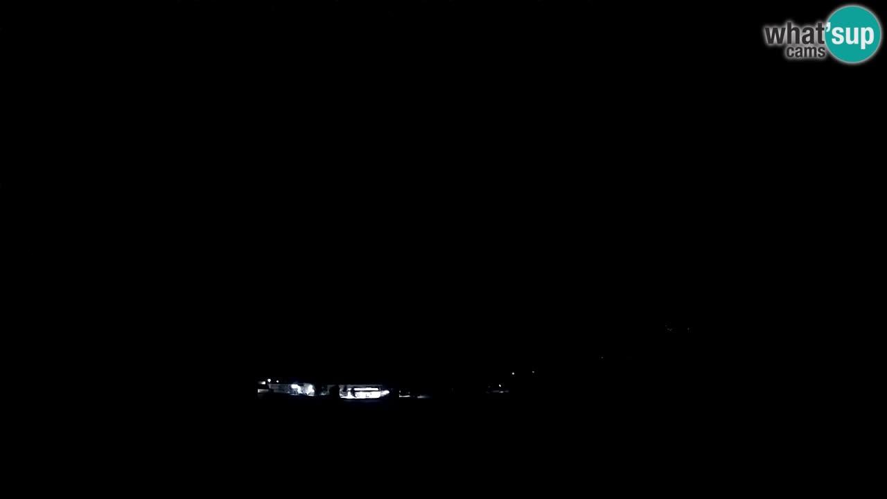 Spletna kamera Kobarid – pristajališče za jadralne padalce z vzletiščem Ozben