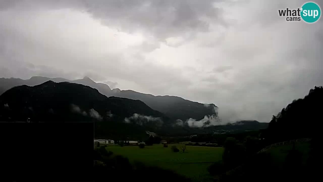 Livecam Caporetto – Parapendio atterraggio e partenza Ozben