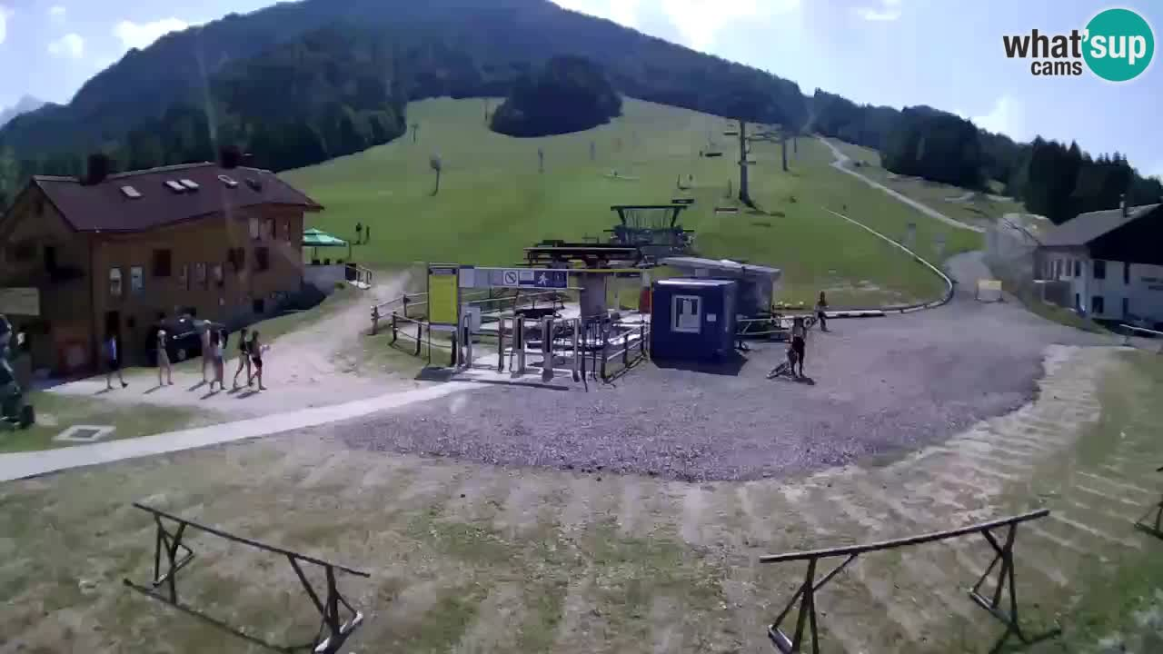 Webcam ski center Kranjska Gora – Vitranc
