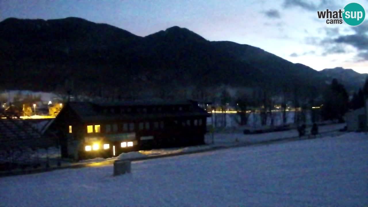 Spletna kamera Podkoren / Kranjska Gora – Poligon in ciljna strmina
