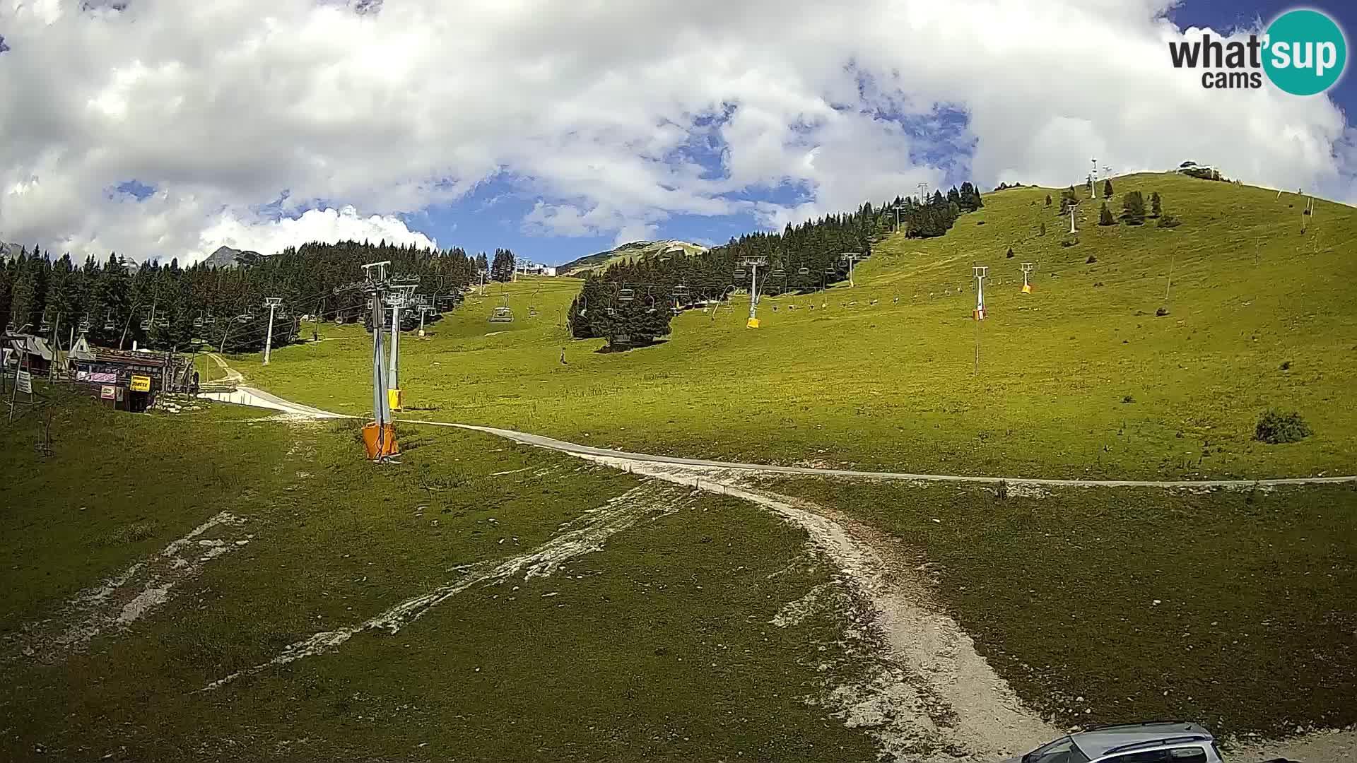 Krvavec – estación del funicular