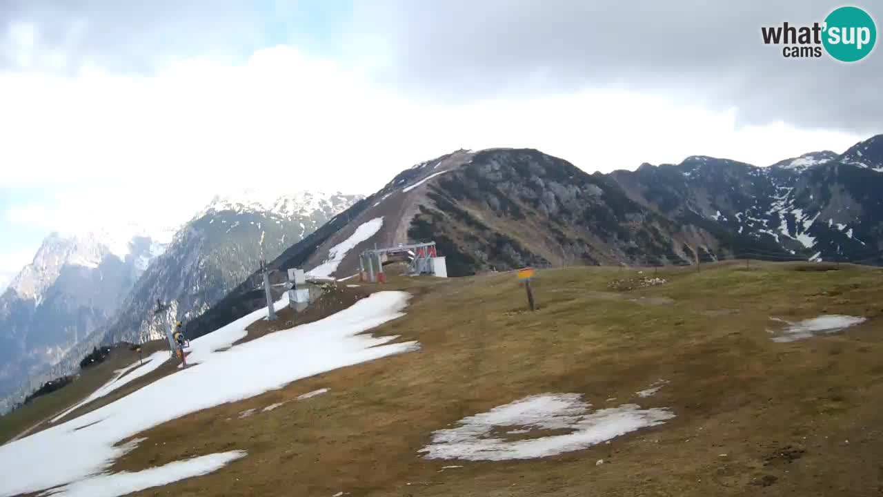 webcam Krvavec – top of the mountain