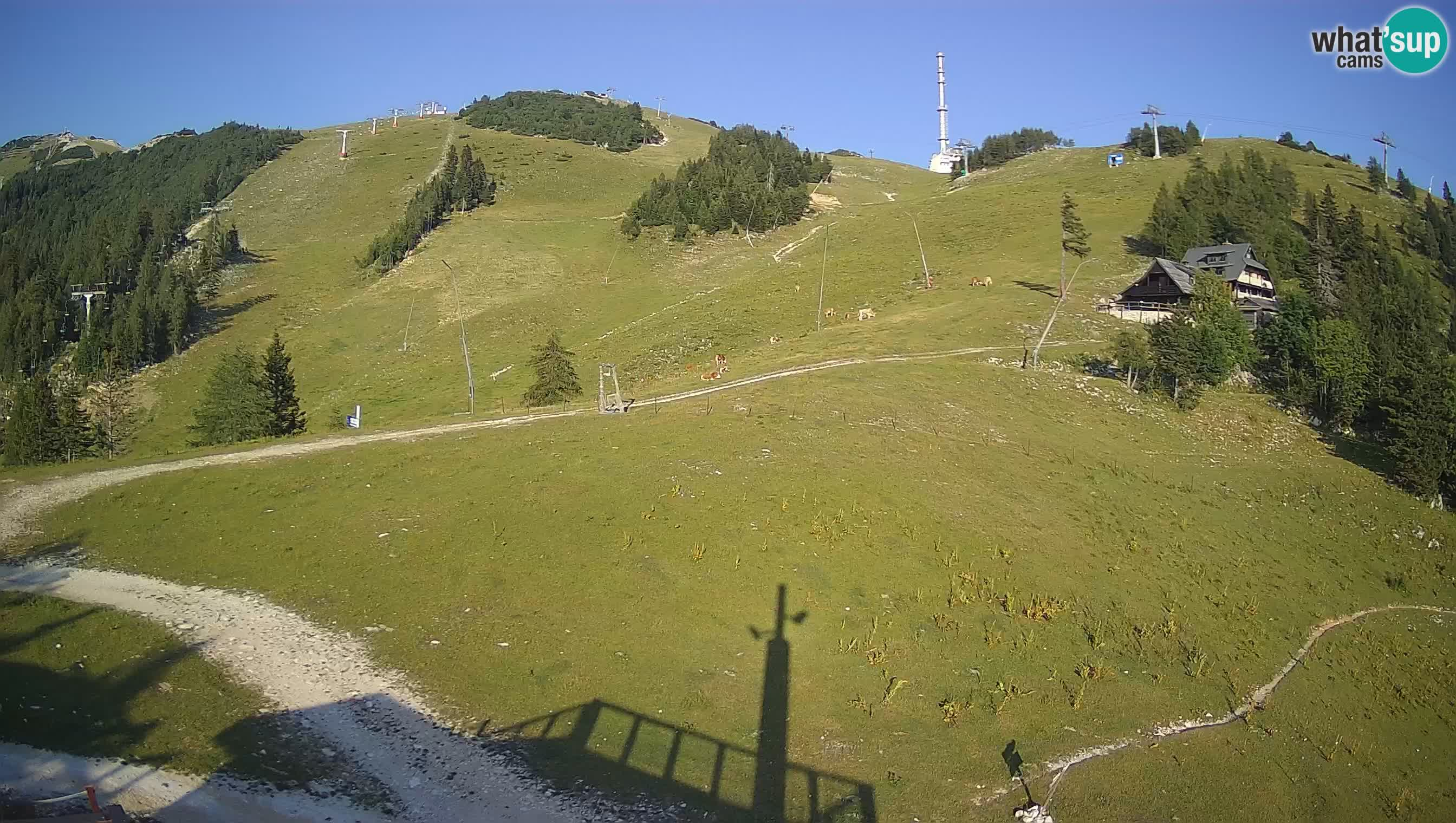 Krvavec webcam motorisiert – Skigebiet