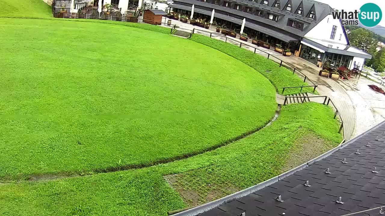 Skijalište Maribor Pohorje – Arena u zivo