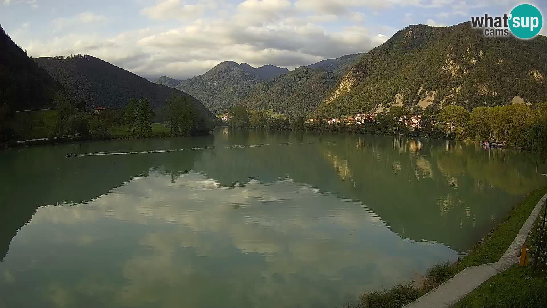 LIVE Webcam Most na Soči lake – Slovenia