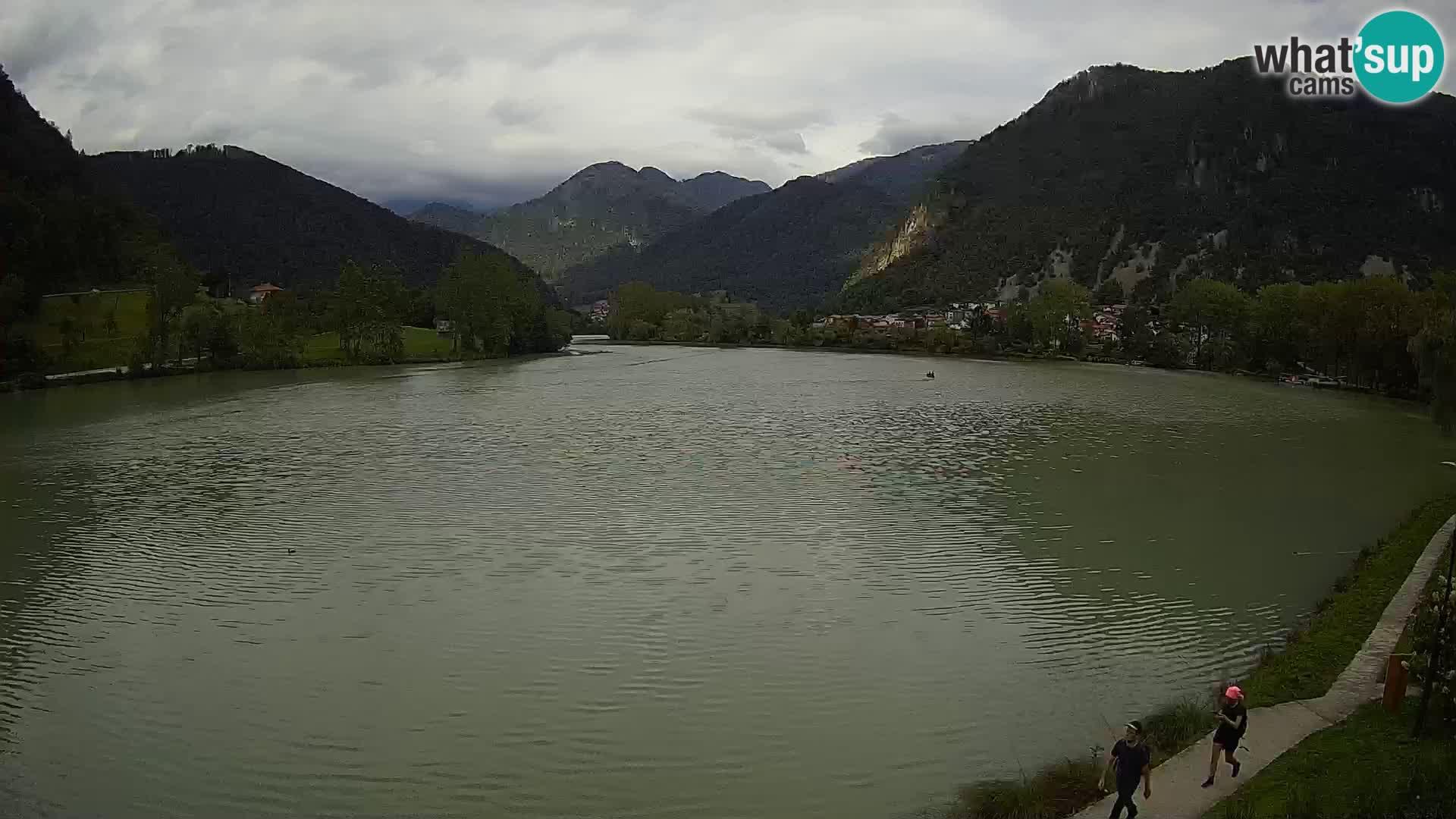 Spletna kamera Most na Soči – jezero