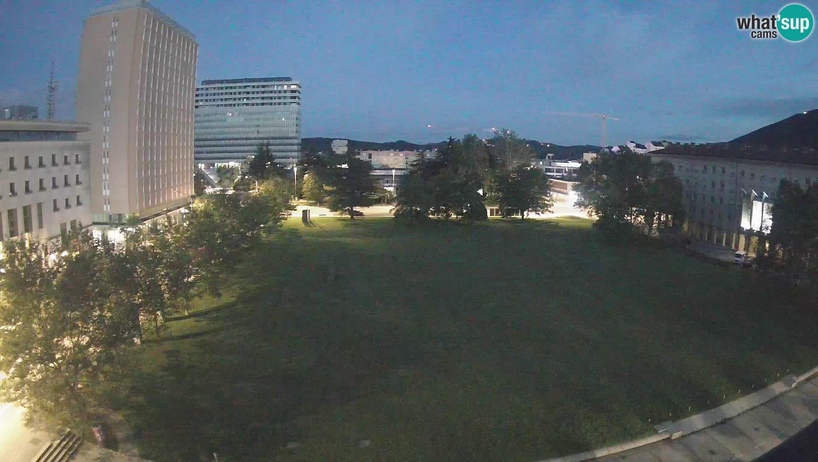 LIVE Webcam Nova Gorica – Edvard Kardelj square