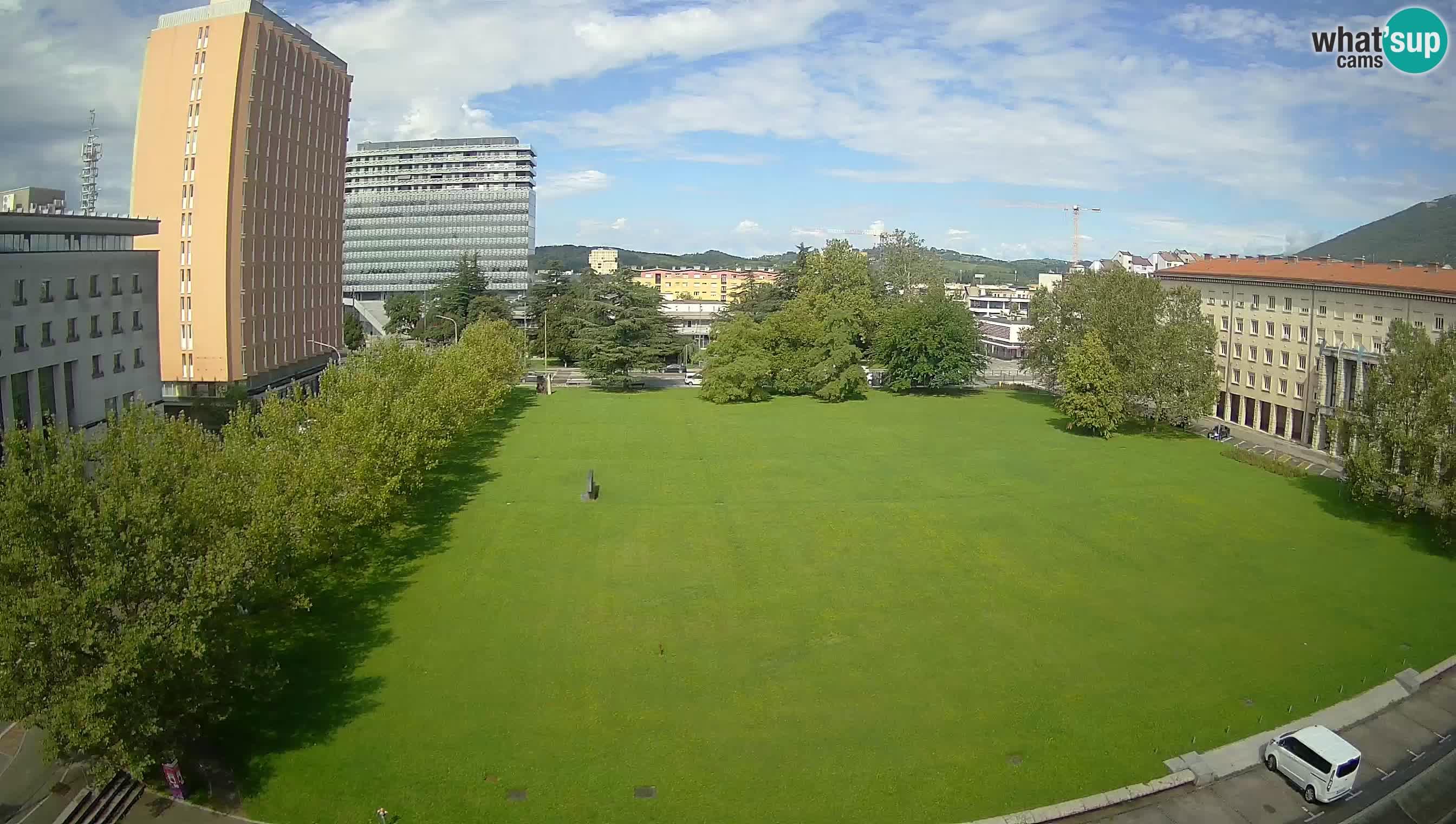 V Živo Nova Gorica Spletna kamera – Trg Edvarda Kardelja