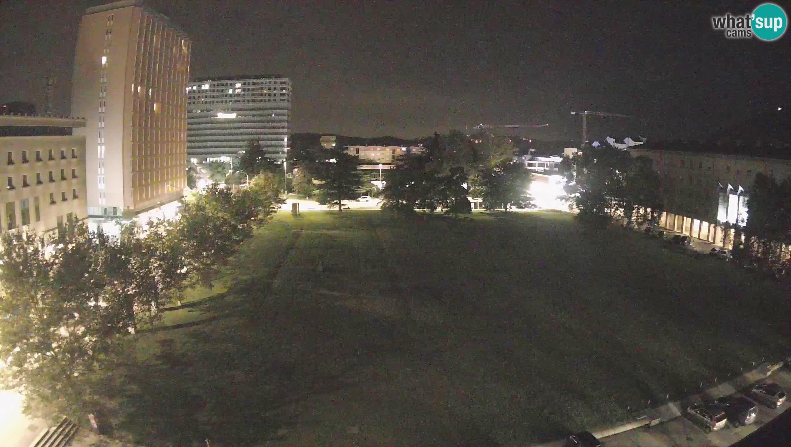 Webcam LIVE Nova Gorica – Edvard Kardelj carre