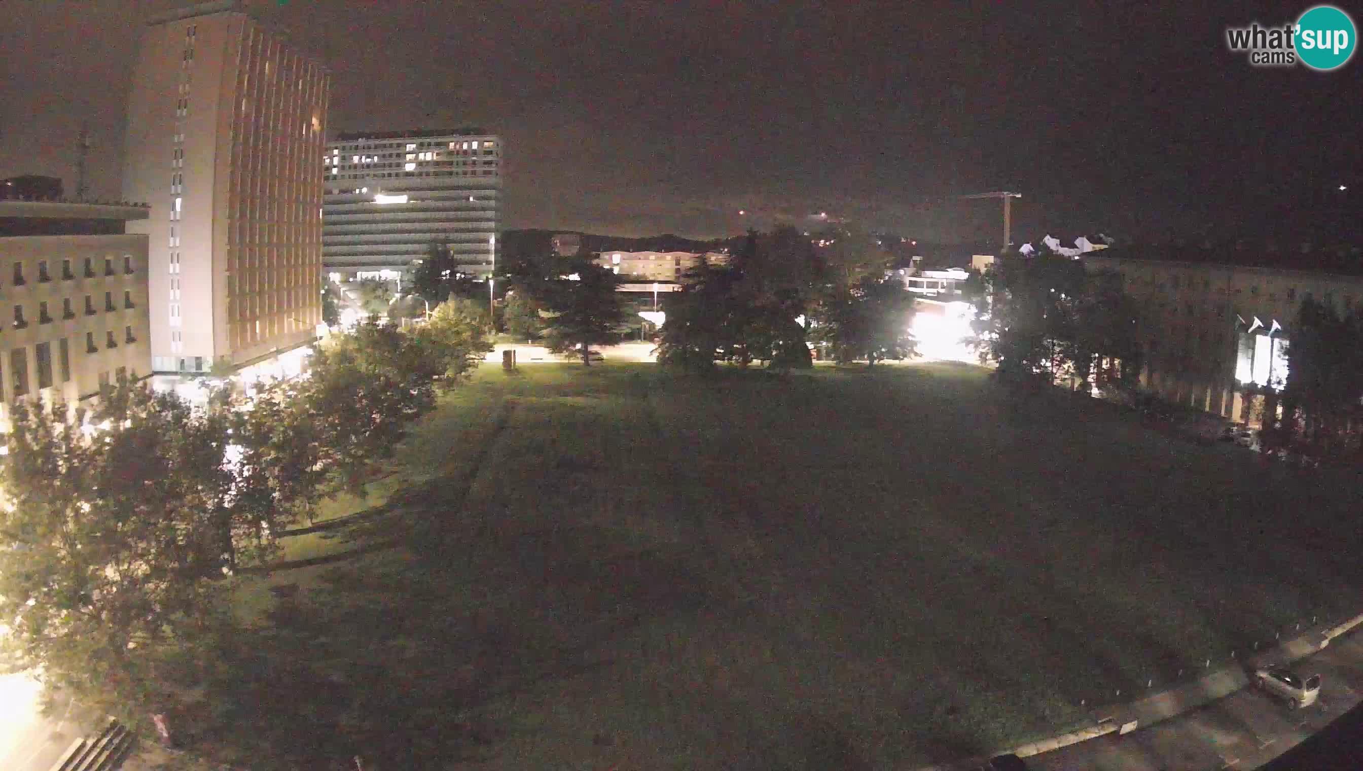 LIVE Webcam Nova Gorica – Edvard Kardelj Platz