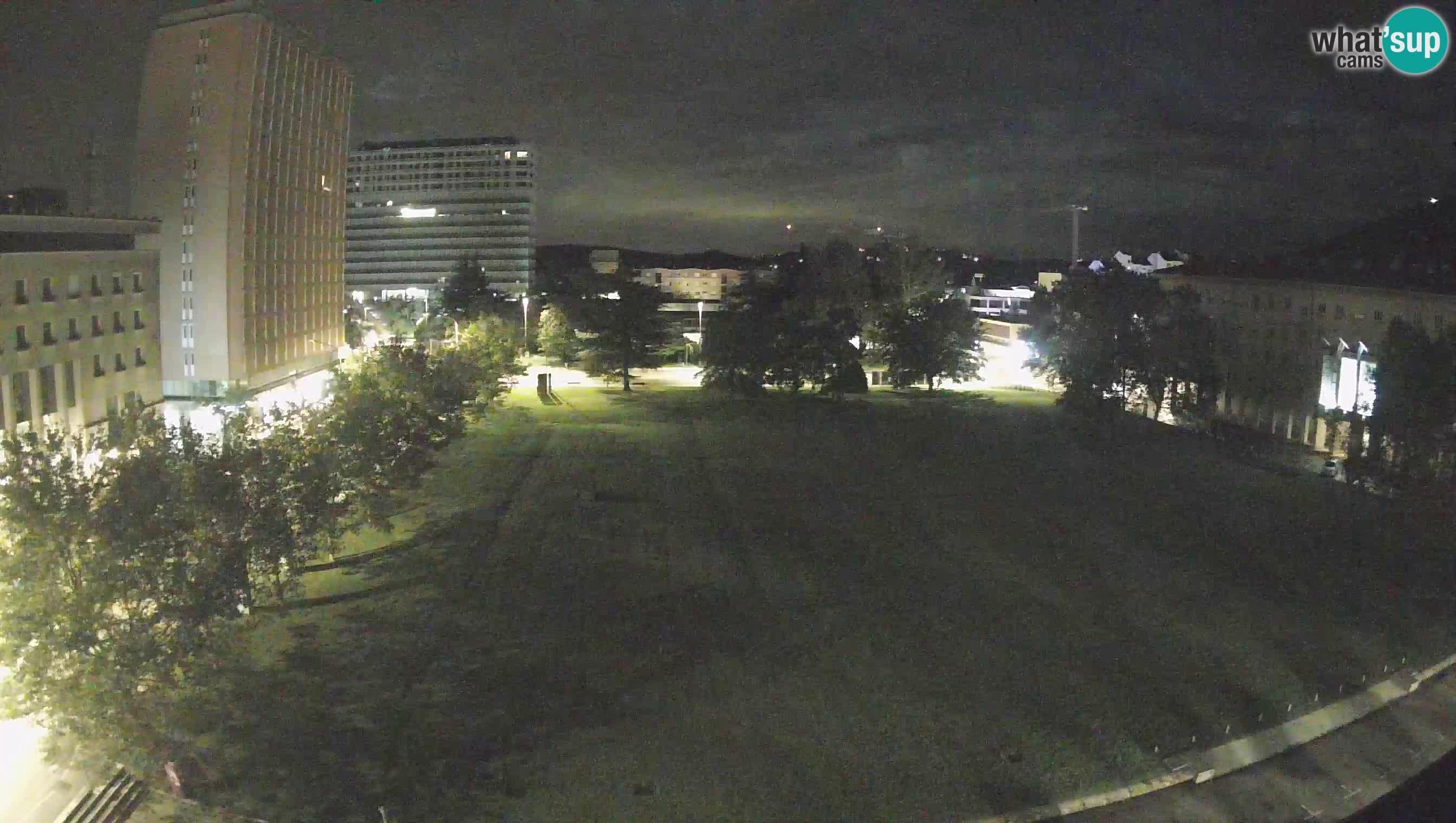 LIVEcam Nova Gorica webcam – Piazza Edvard Kardelj