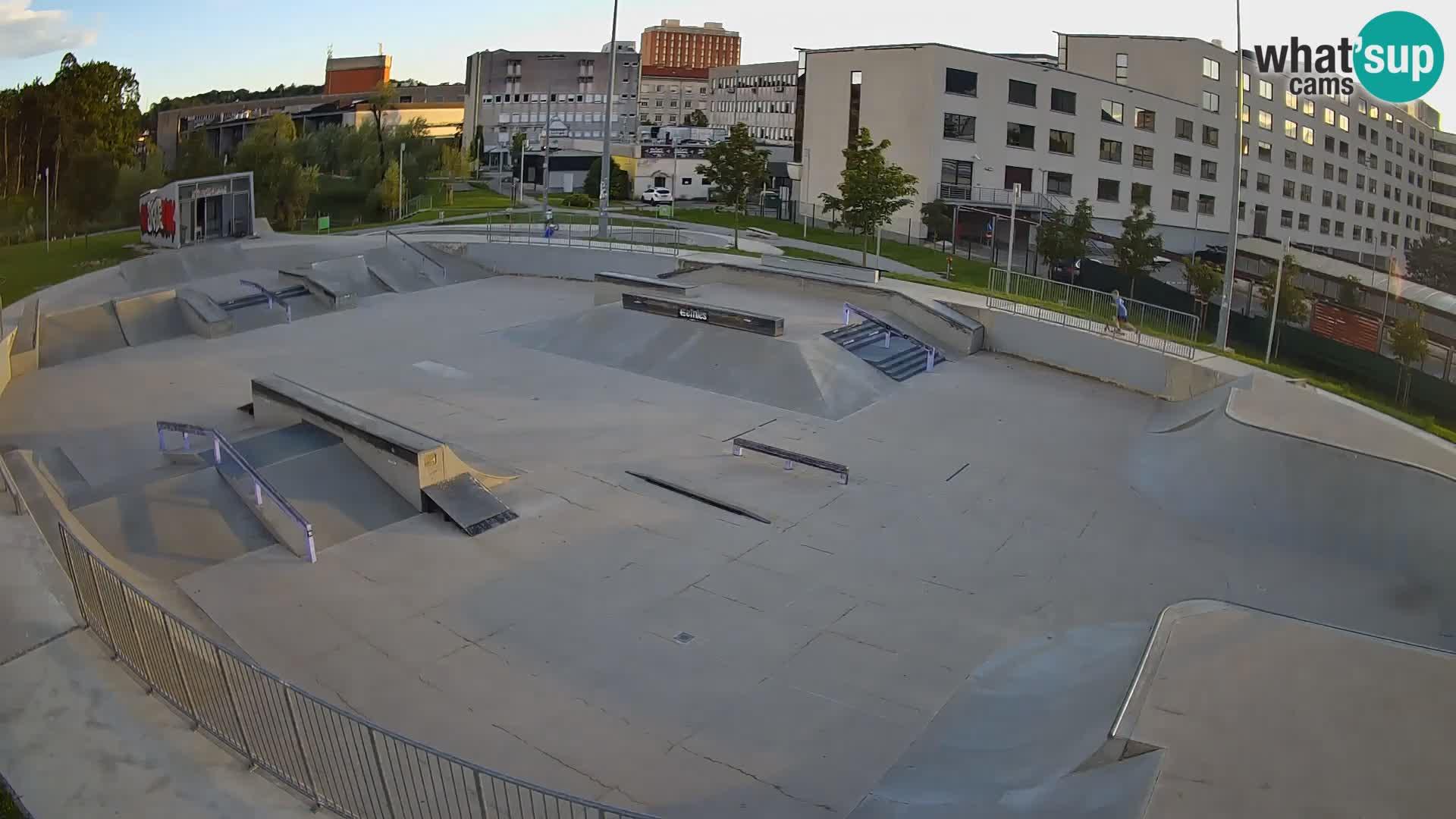 Skate park Nova Gorica – vue 1