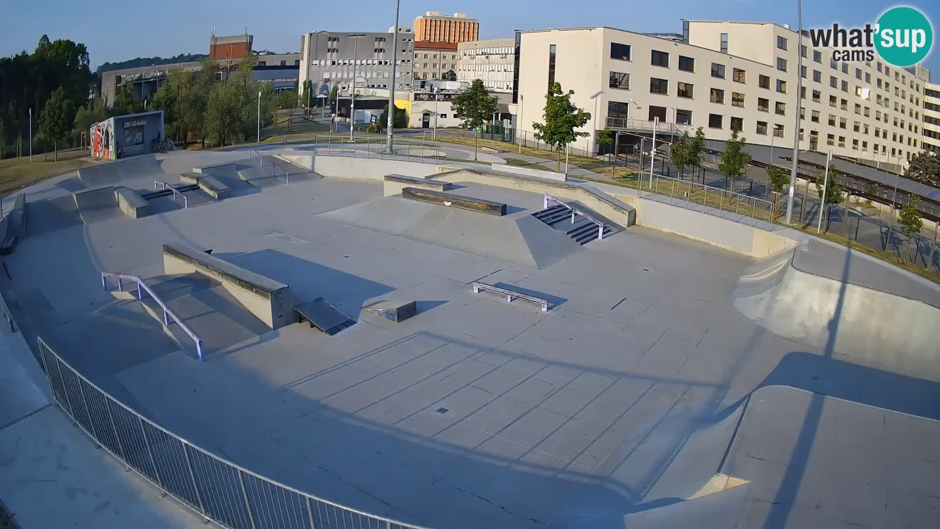 Skate park Nova Gorica – vista 1