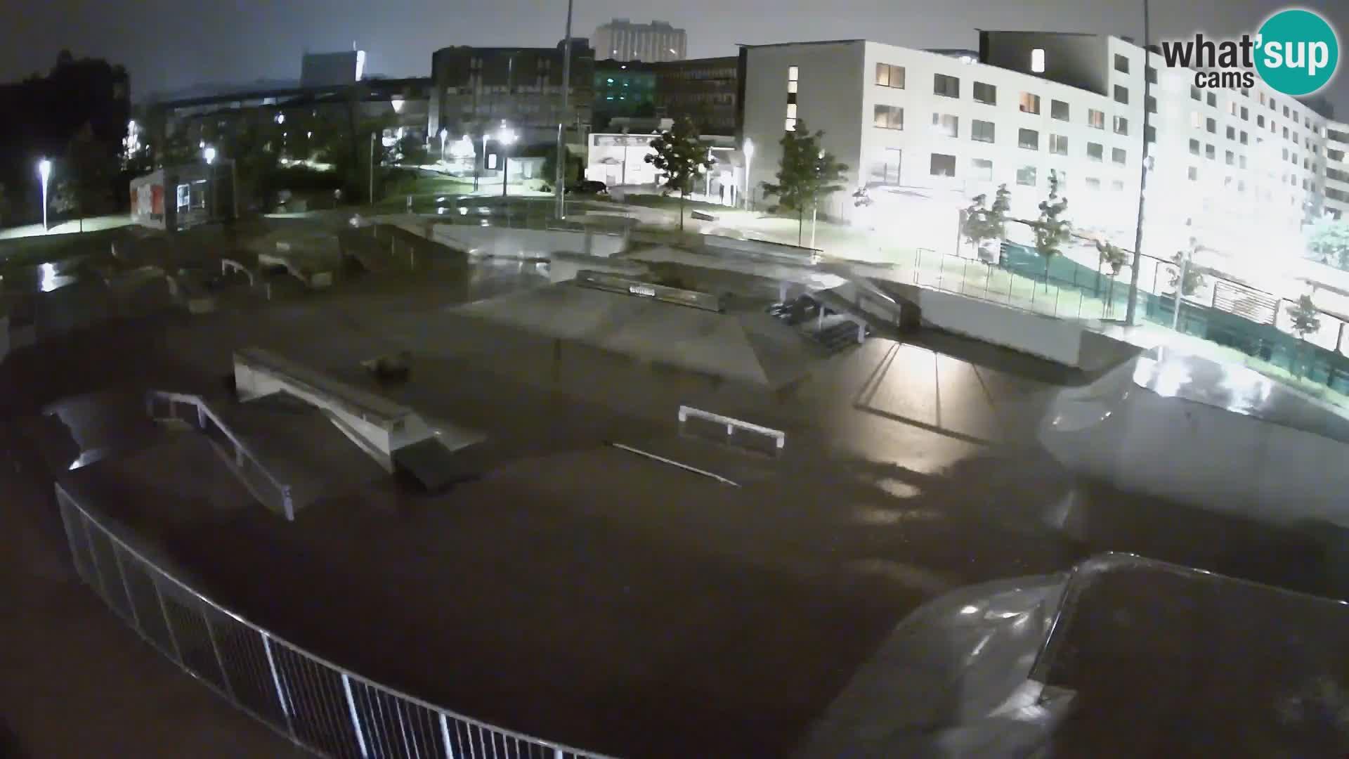 Skate park Nova Gorica – blick 1