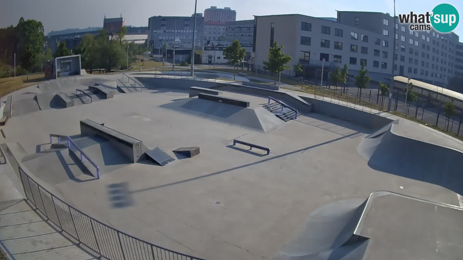 Skate park Nova Gorica – view 1