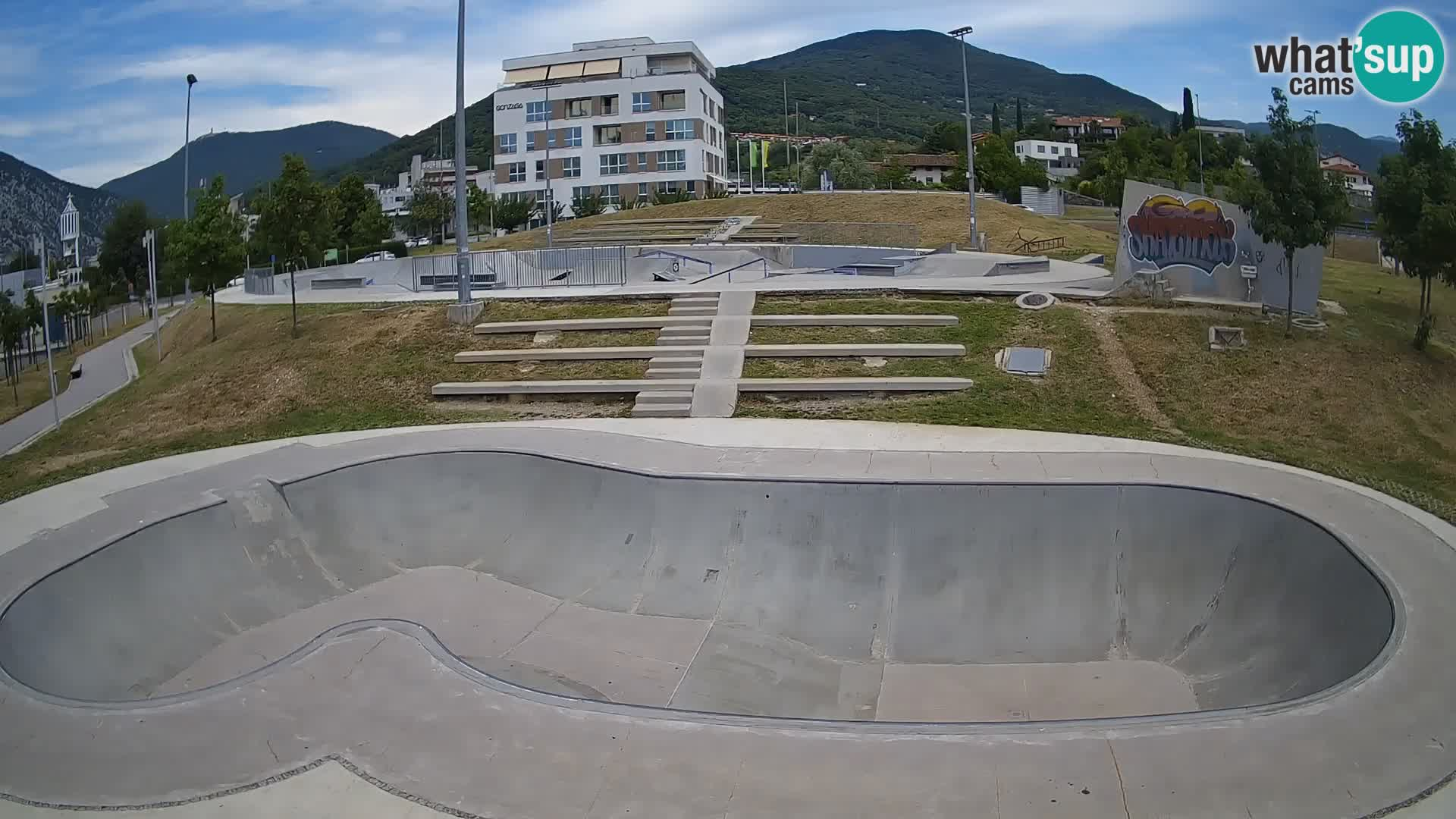 Skate park Nova Gorica – view 3