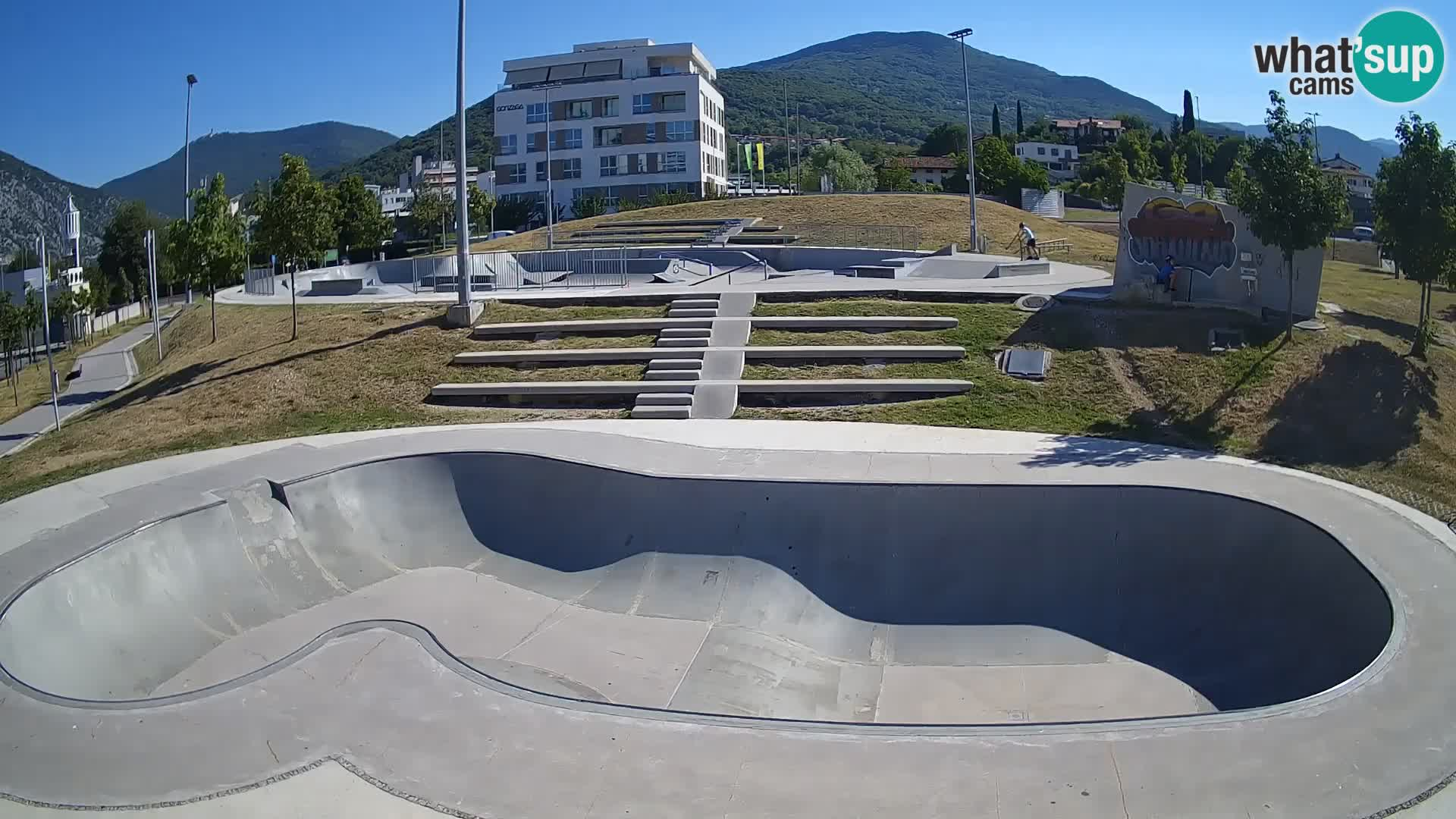 Skate park Nova Gorica – blick 3
