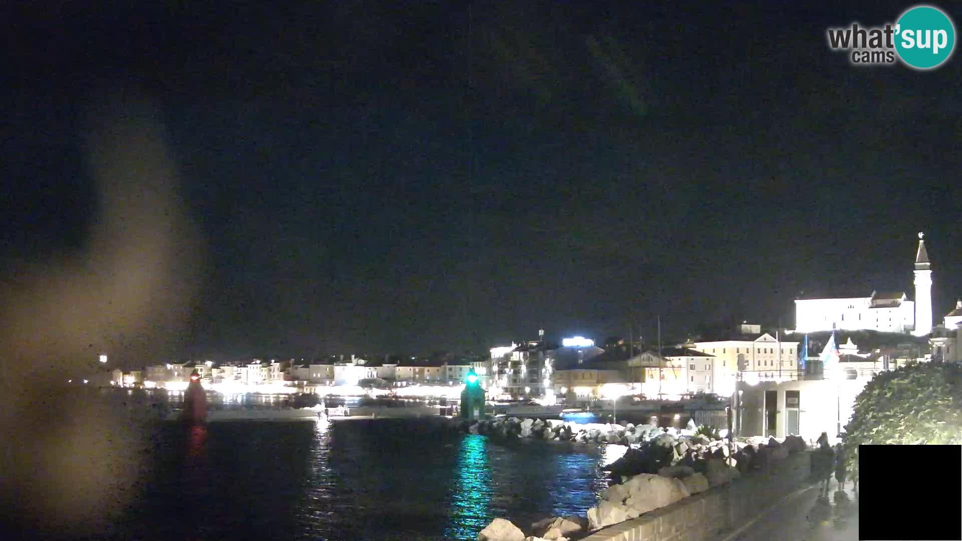 Piran – Pogled proti Punti in Mandraču