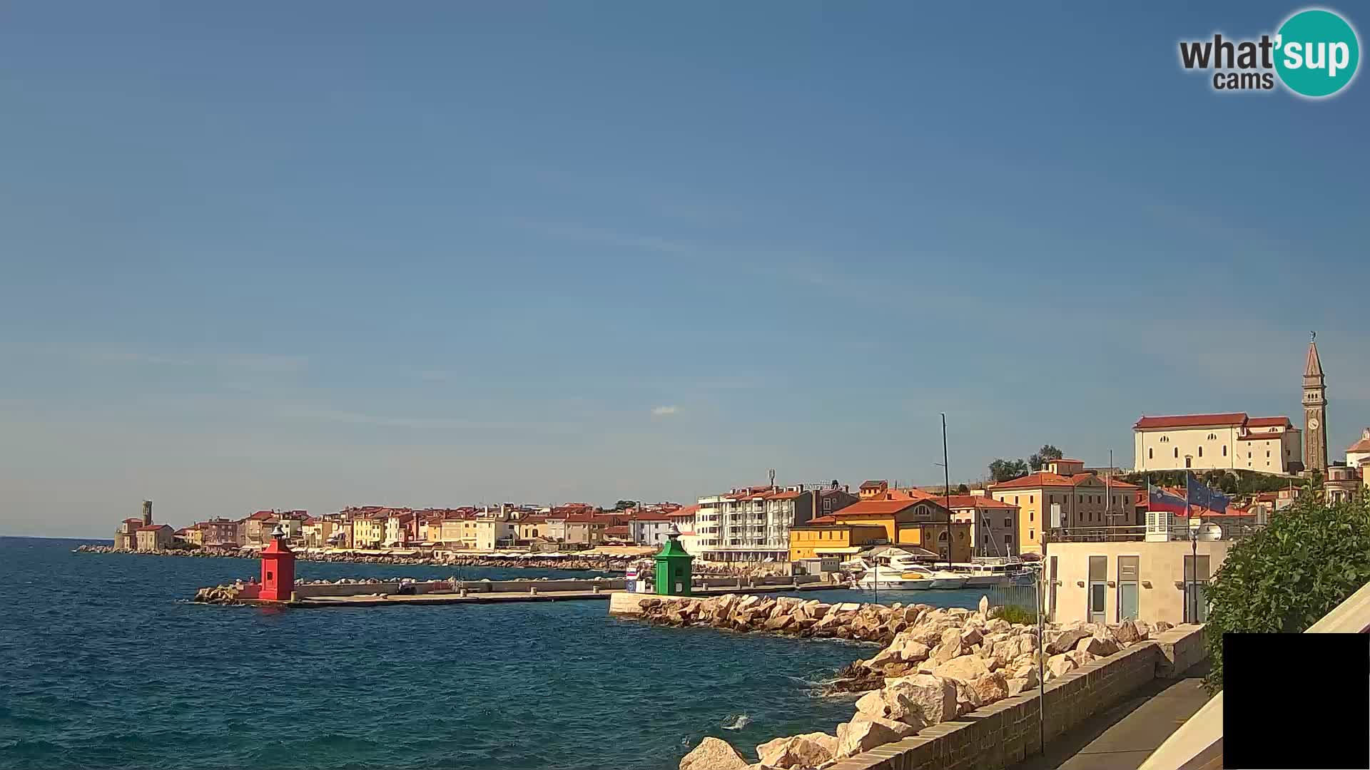 Piran – Punta und Mandrač