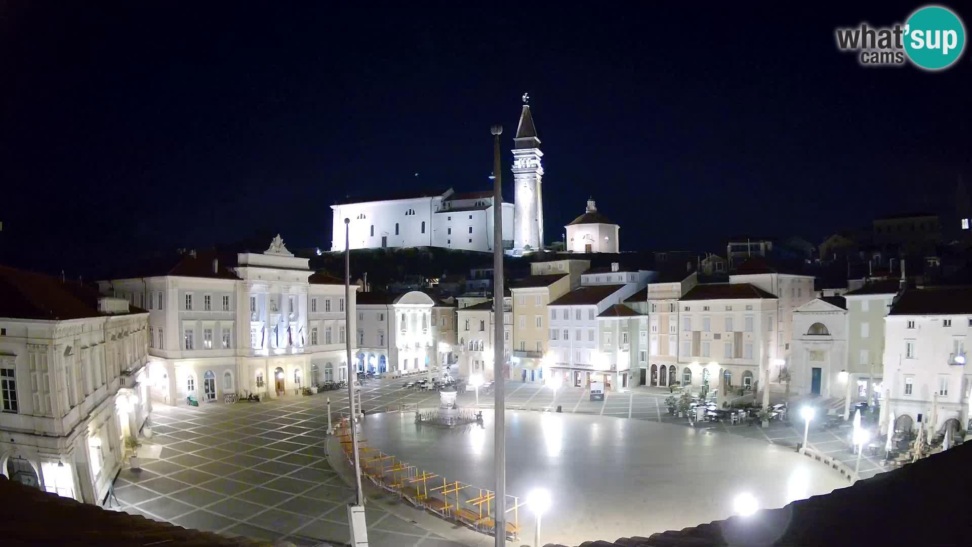 Webcam Piran – Place Tartini
