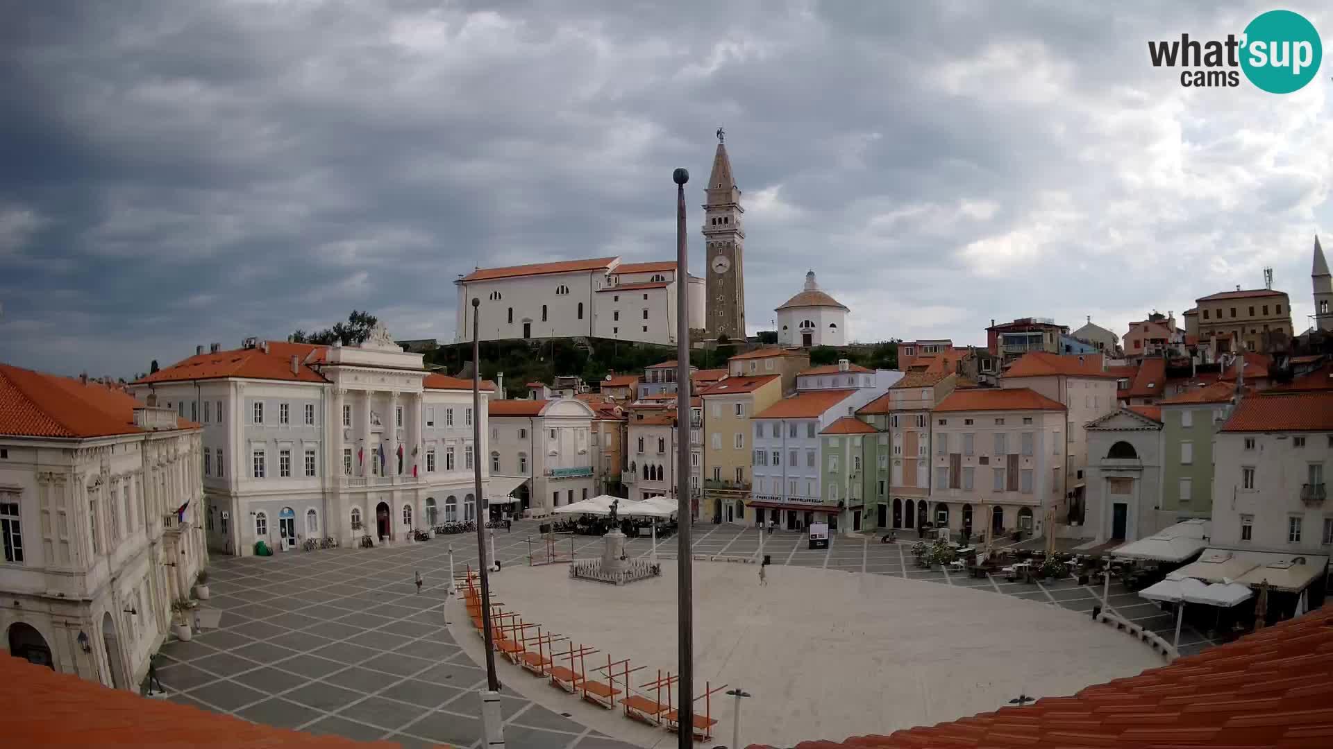 Webcam Piran – Plaza Tartini