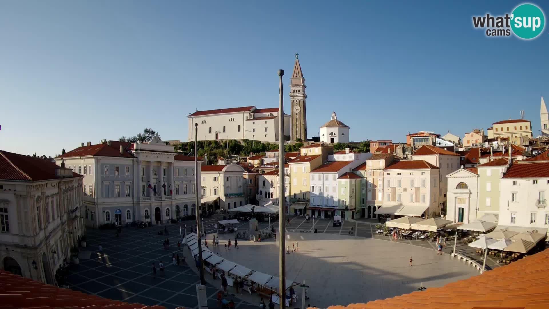 Webcam Piran – Tartini square
