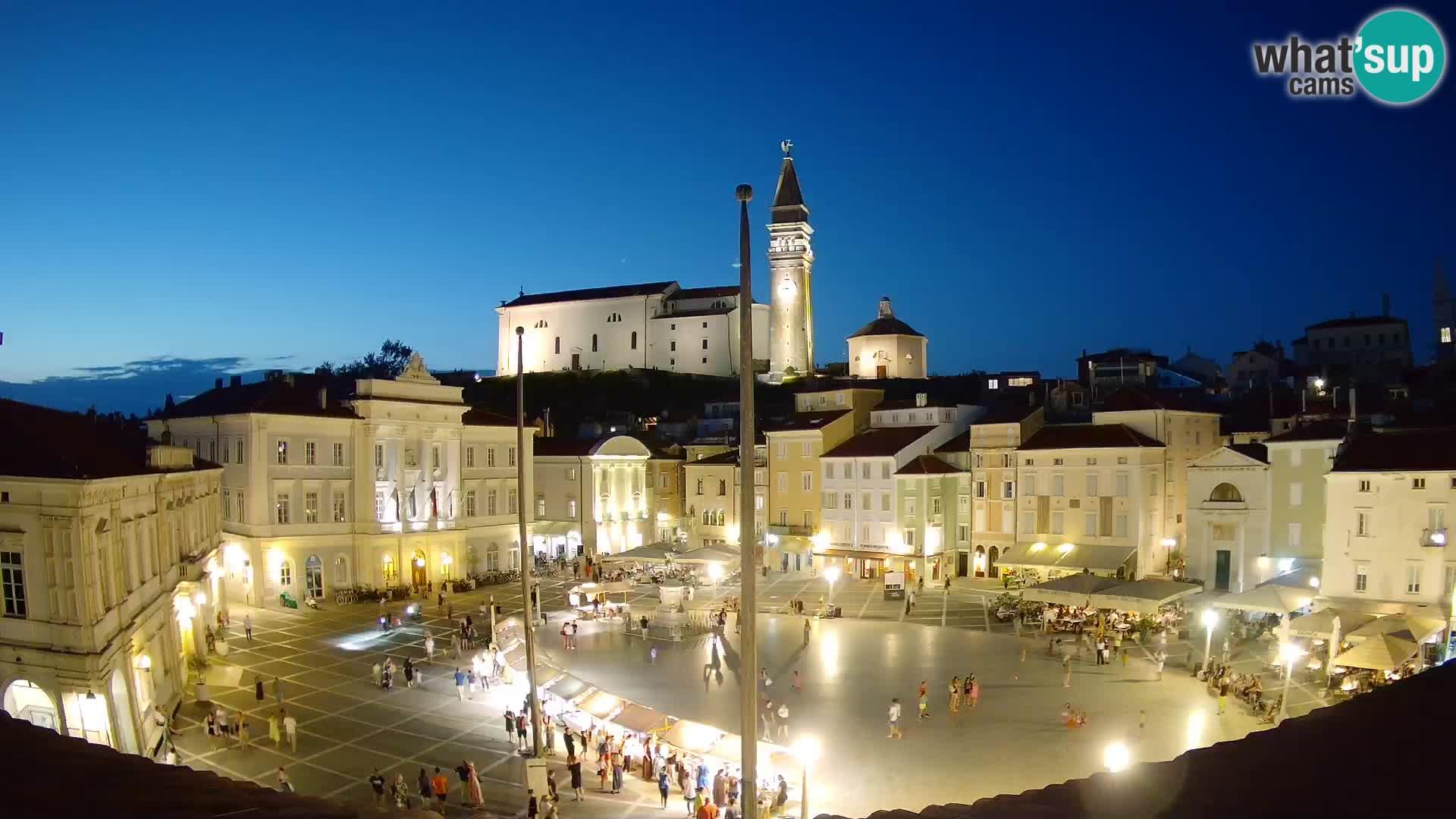 Kamera v živo Piran – Tartinijev trg