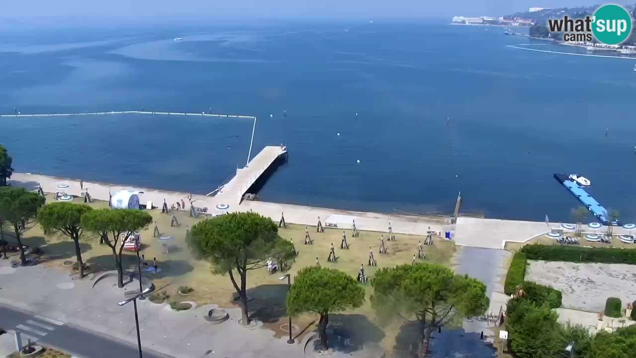 Portorož – Vue