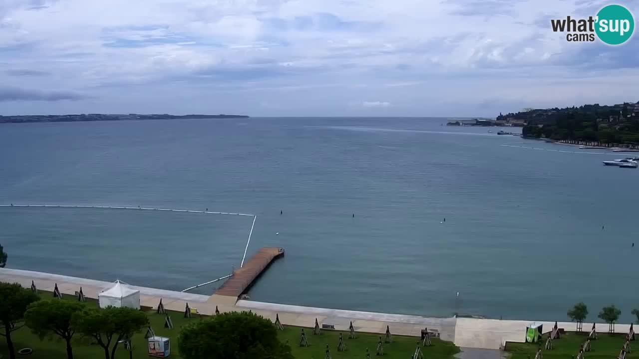 Kamera v živo Portorož – Panorama