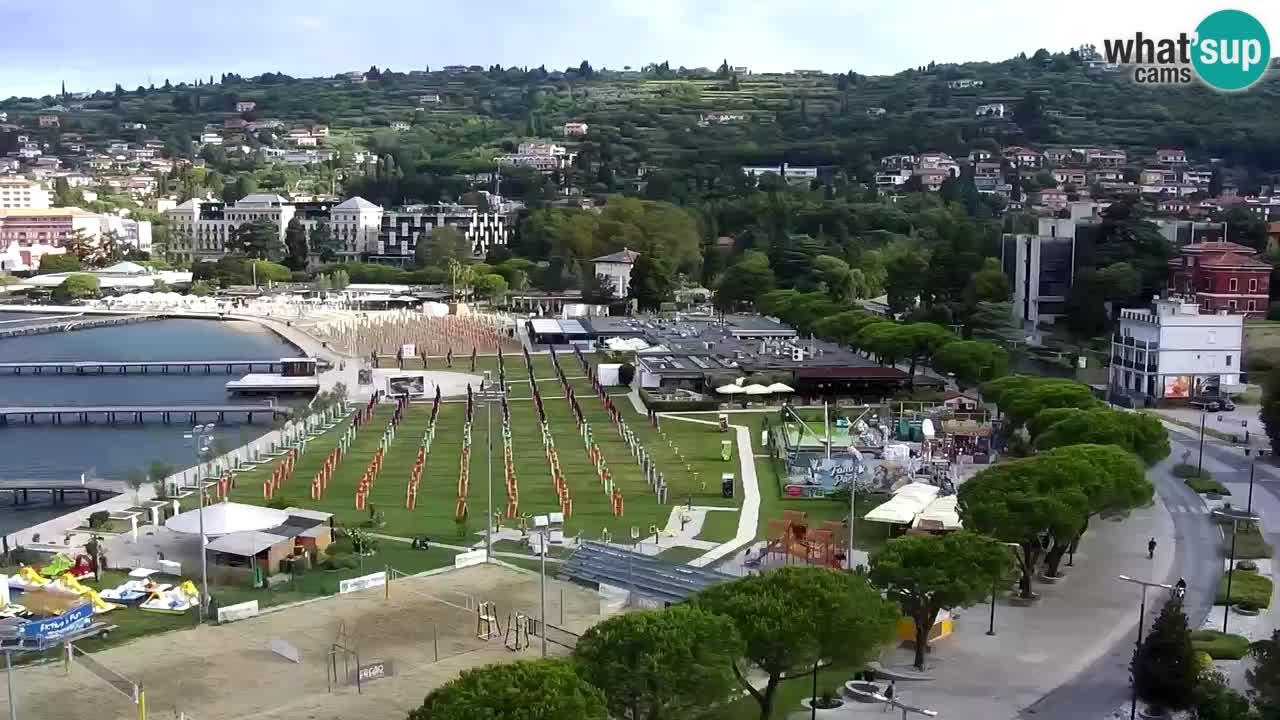 Camera en vivo Portorož – Panorama