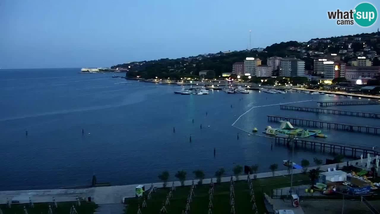 Portorož – panorama