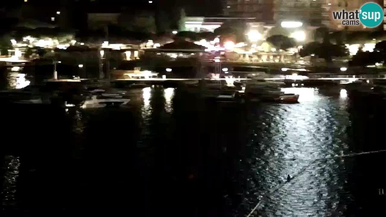 Webcam spiaggia Portorose – Vista dal ristorante Bungalow